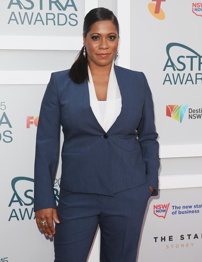 Shareena has alleged she experienced racism while working on the show.