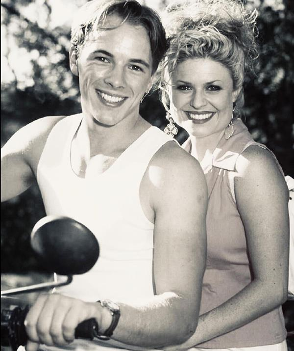 """**Emily Symons** <br><br> Emily Symons, another *Home And Away* star, shared this black and white throwback in honour of Dieter, whom she called a """"kind and genuine person"""" in her moving caption. <br><br> """"I can't believe this absolutely tragic news. Dieter was such a lovely, kind, genuine person. I always enjoyed working with him. I will never forget his beautiful smile, he was a much loved member of our Home and Away family. Thinking of his loved ones at this difficult time 💔"""""""