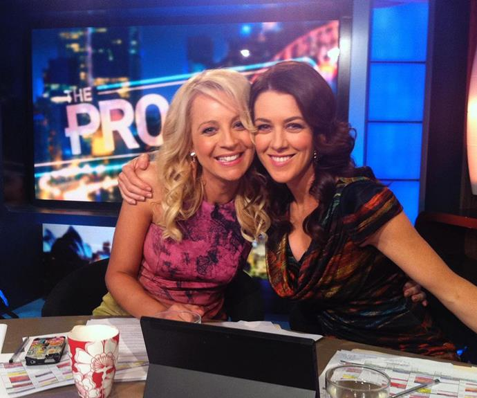 Gorgi Coghlan has announced she is leaving *The Project* after 10 years.