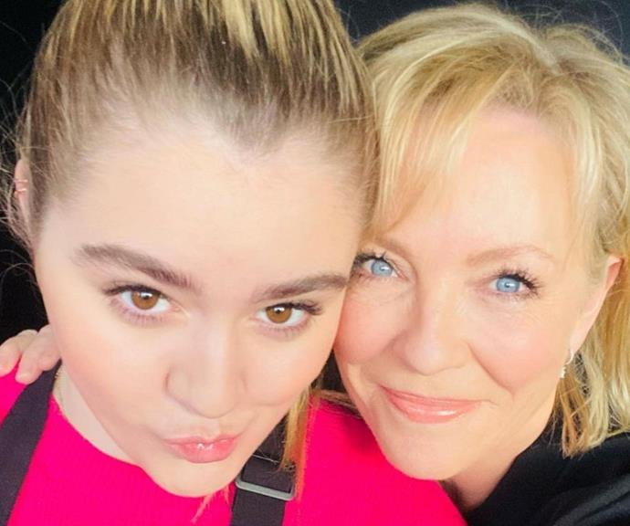 Tilly and Rebecca in a selfie together.