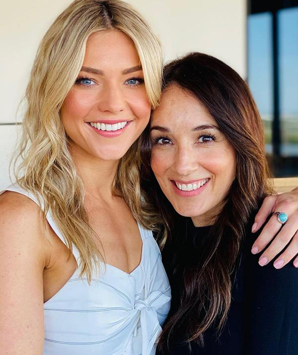 Sam Frost is just one of the Summer Bay favourites Laura Vazquez works with every day as a makeup artist.