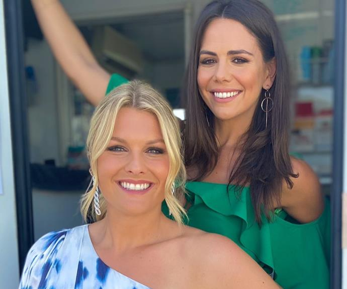 Laura chose more glam looks for Sophie and Emily in a recent episode of *Home And Away.*