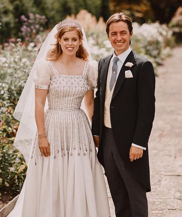 """[Princess Beatrice surprised everyone when she wed Edoardo Mapelli Mozzi](https://www.nowtolove.com.au/royals/british-royal-family/princess-beatrice-wedding-photos-64654