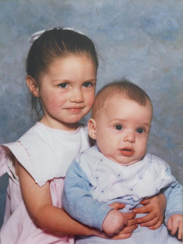 """""""He was such a gorgeous child,"""" says Loren, who was two-and-a-half years older than Dan."""