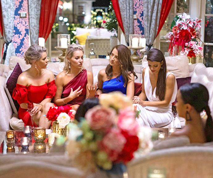 The women in the Bachelor mansion were divided over the cruel name-calling.