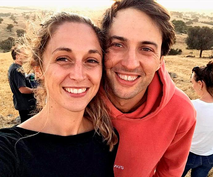 Hayley and her partner got engaged when she returned from filming.
