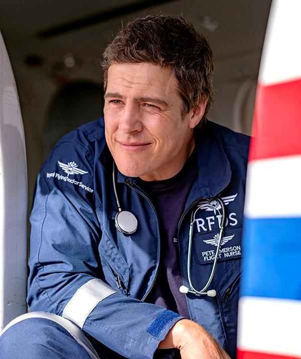 Stephen Peacocke as he appears in *RFDS: Royal Flying Doctor Service.*