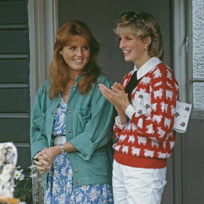 Sarah, Duchess of York and Princess Diana were fast friends before the princess' tragic death.