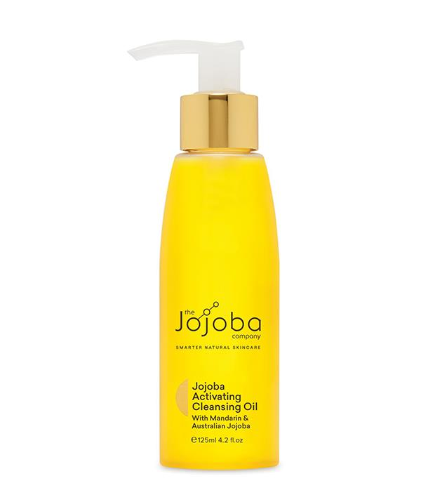 """Jojoba Activating Cleansing Oil ($39.95), [shop it here.](https://thejojobacompany.com.au/collections/cleansers/products/jojoba-activating-cleansing-oil