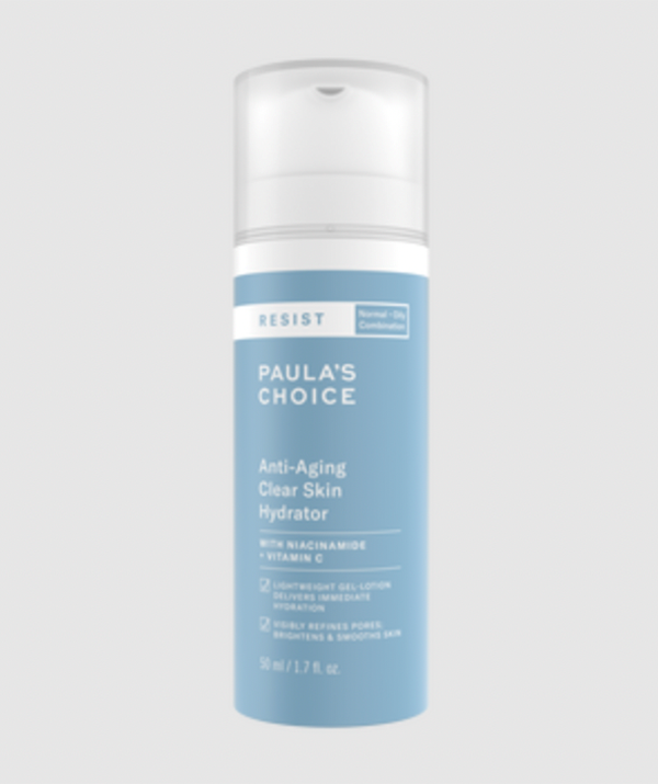 """Anti-Aging Clear Skin Hydrator ($42), [shop it here.](https://fave.co/2VNxTuH