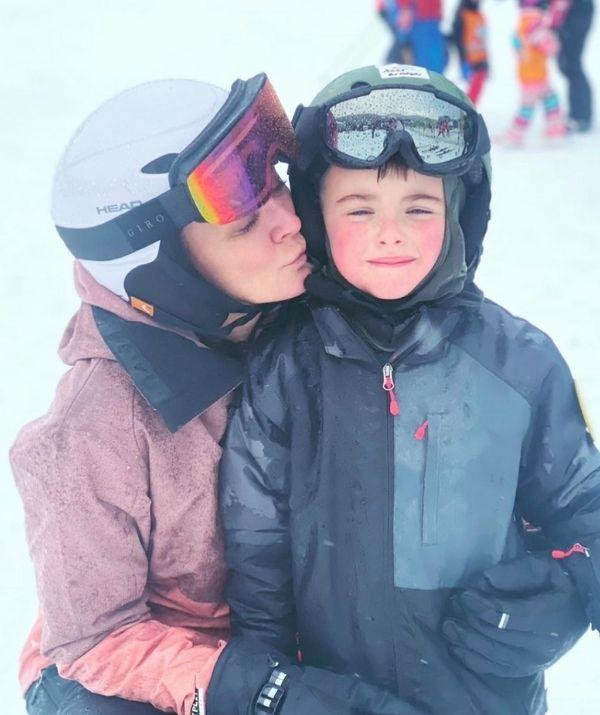 They really love the snow and have spent time skiing recently, judging by Michelle's Instagram. Though it's unclear where Michelle and son are currently holidaying, the fitness icon lives in the Southern Highlands and is therefore allowed to travel under current lockdown restrictions.