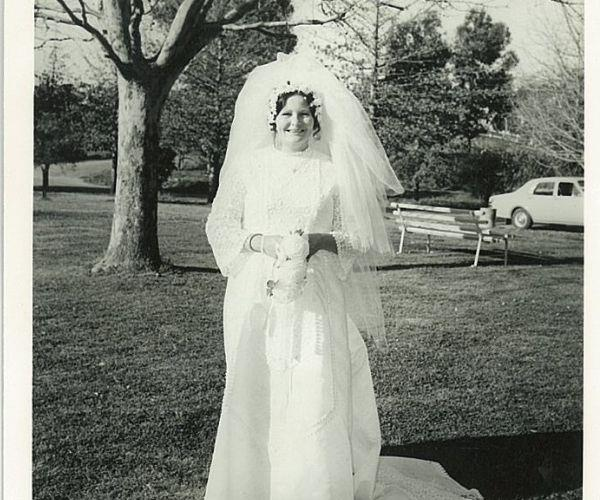 At my first wedding