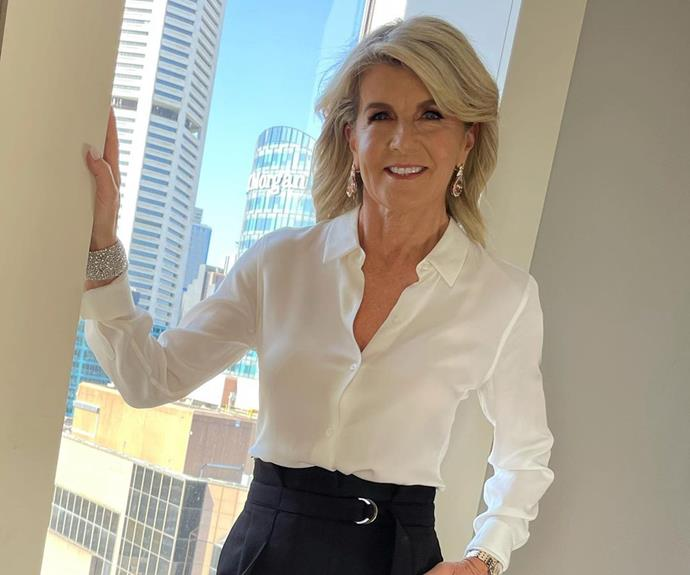 Does Julie Bishop deal with these kind of lockdown regrowth woes?