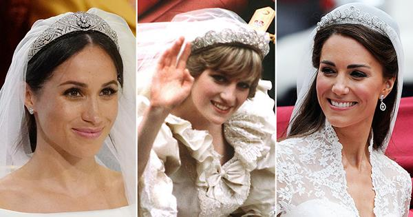Sparkling diamonds and family heirlooms: These are the most exquisite royal wedding tiaras through history