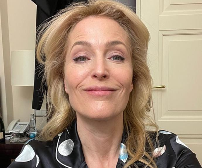 Actress Gillian Anderson recently vowed to never wear a bra again while in lockdown.
