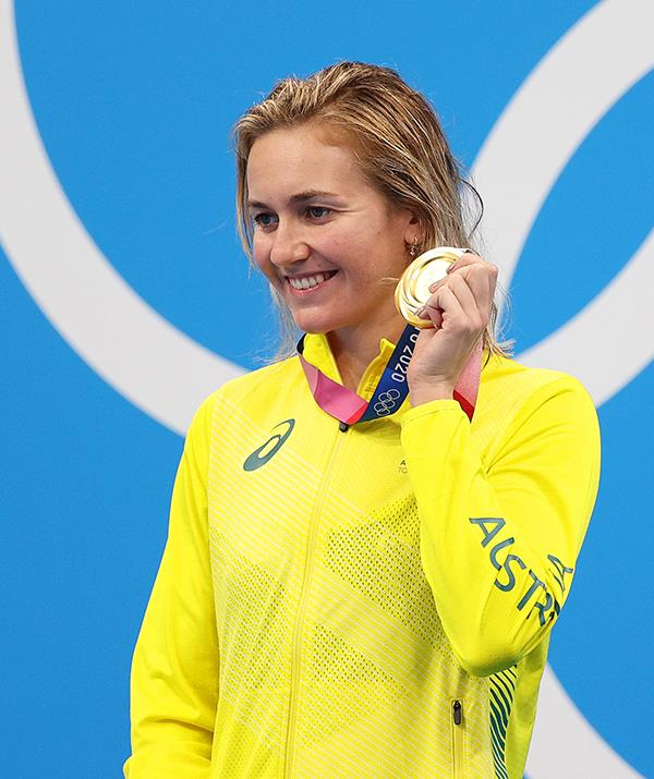 **Ariarne Titmus** <br><br> The talented swimmer won gold in the 400m freestyle and the 200m freestyle.