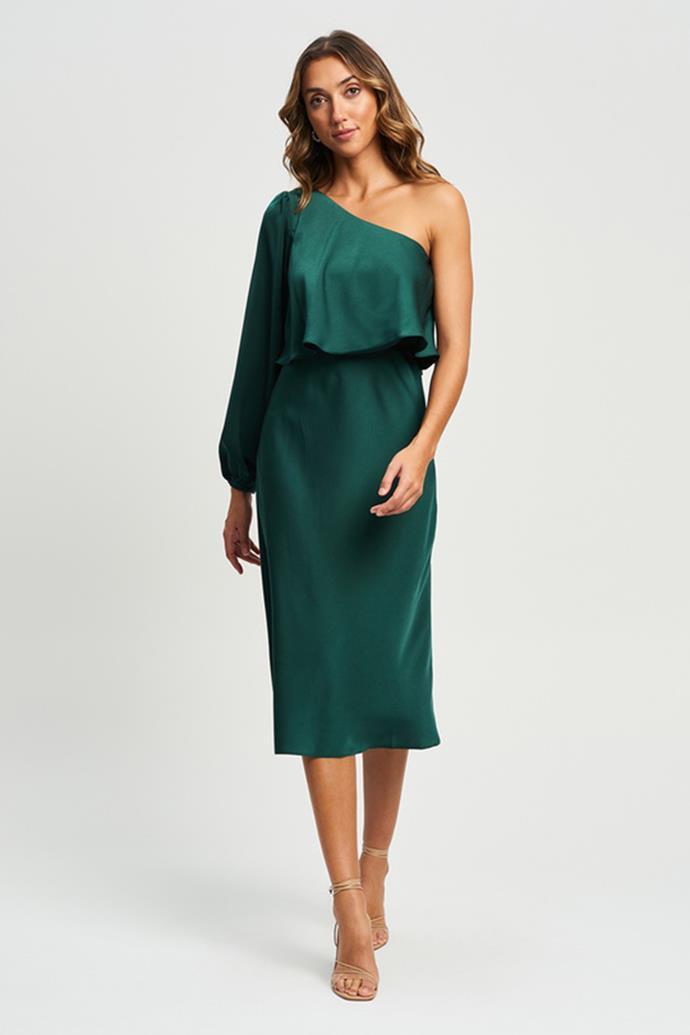 "Chancery Rome Midi Dress $139.95 - [shop it here.](https://fave.co/3CIMgkG target=""_blank"" rel=""nofollow"")"
