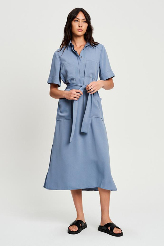 """Willa Bambino Midi Dress on sale for $77.97 - [shop it here.](https://fave.co/3CKpj0z target=""""_blank"""" rel=""""nofollow"""")"""
