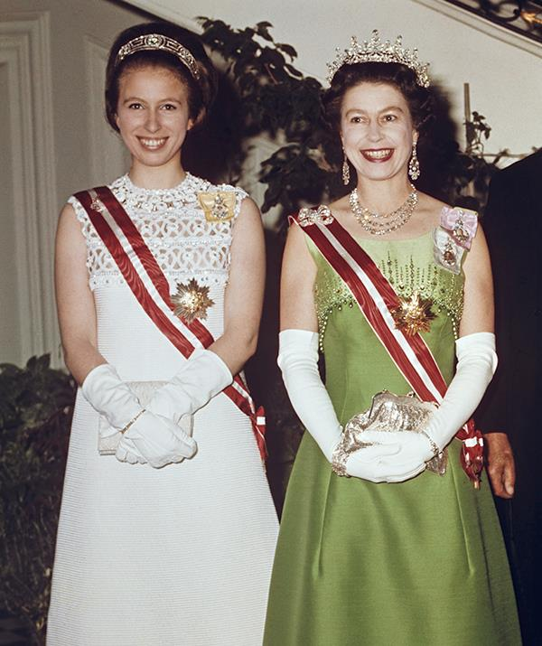 Princess Anne has always sat behind her brothers in the line of succession.