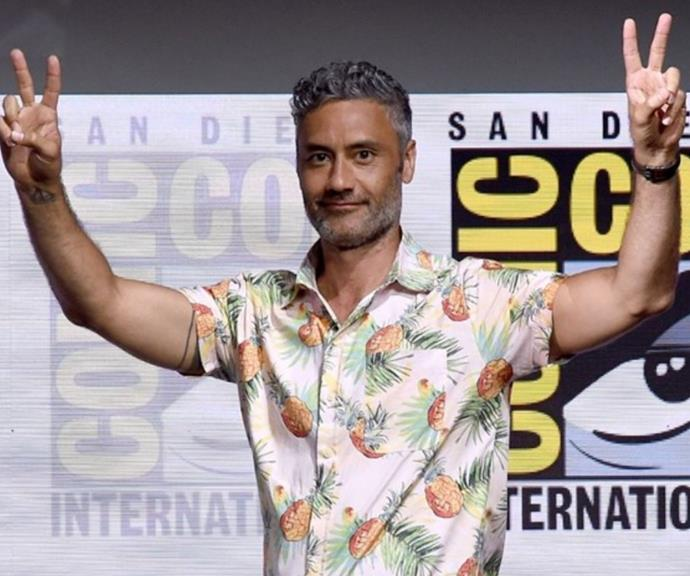"""**Taika Waititi 2021** <br><br> Rita has caused a stir Down Under since being spotted with Thor director Taika Waititi at a Chris Hemsworth party before sources revealed they were """"all over each other"""" and """"legit making out"""" at a bar on Oxford St in Sydney. <br><br> They later attended the *Rupaul Drag Race Down Under* premiere in Sydney together and then hit headlines after both of them were snapped kissing American actress Tessa Thompson on a balcony."""