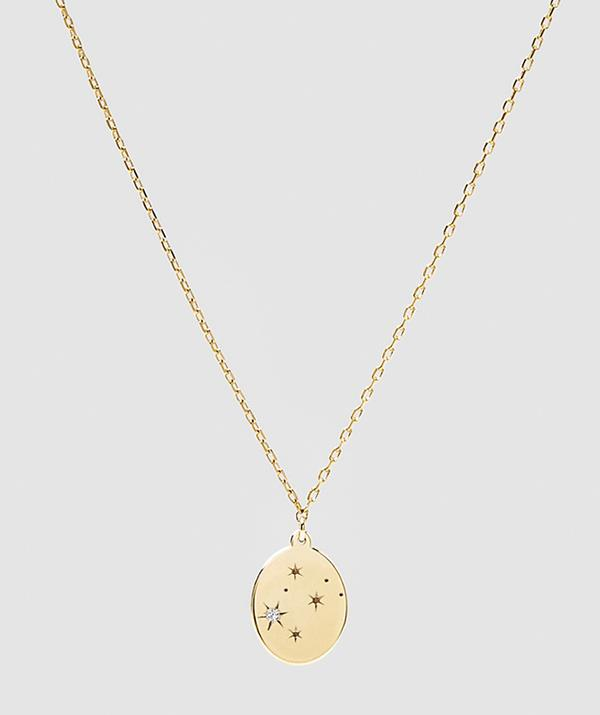 """Luna Rae Solid Gold Stars of Gemini Necklace $319 - [shop it here.](https://www.theiconic.com.au/solid-gold-stars-of-gemini-necklace-1072059.html target=""""_blank"""" rel=""""nofollow"""")"""
