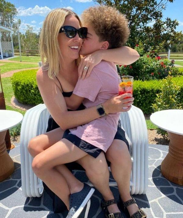 """""""I don't think I know a cooler person. He has swagger for days, he's a bundle of fun and has a deep love for life. My Huddie boy!,"""" wrote Jules of her son."""