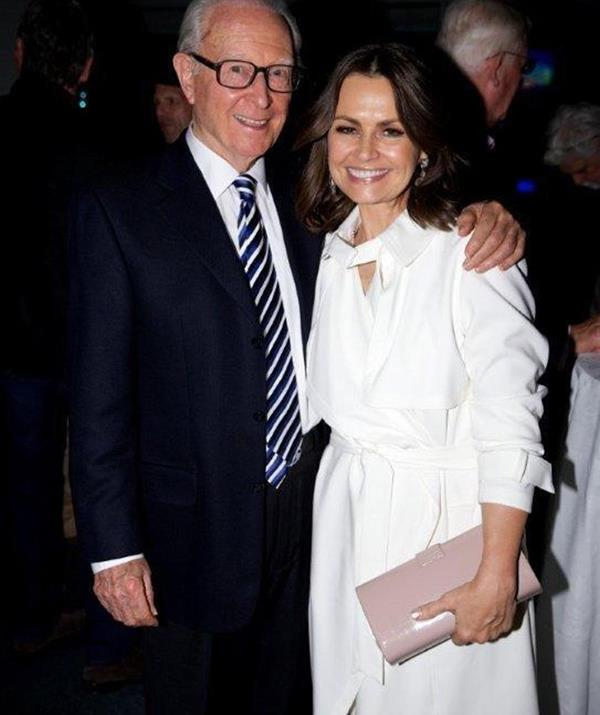 """**Lisa Wilkinson** <br><br> Lisa penned an emotional tribute to Brian, honouring the """"legendary Channel Nine newsreader, Bandstand host, Gold Logie winner, champion mentor of so many, and true gentleman"""". Sharing this snap of them to Instagram, she said that despite never working with Brian, he always had a kind word for her whenever they crossed paths. <br><br> """"Brian died today after a long battle with cancer, just shy of his 90th birthday. No-one, ever, did it better. My deepest condolences to his greatest love, wife Mardi, and daughters Jodee and Nicole, as well as so many at Nine, and across the industry who were the lucky beneficiaries of his friendship and wisdom,"""" she wrote."""