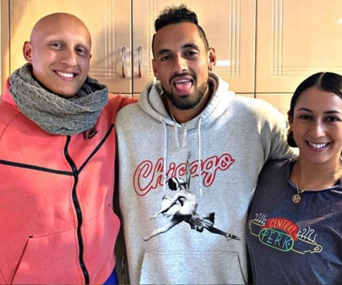 """**Halimah Kyrgios** <br><br> Does this name sound familiar? That's because Halimah is tennis pro Nick Kyrgios' 31-year-old sister.  <br><br> The performer has worked in musical theatre for years, and in an interview with *[The Canberra Times,](https://www.canberratimes.com.au/story/7362468/halimah-kyrgios-nicks-sister-takes-her-shot-at-stardom/ target=""""_blank"""")* Nick told the publication that she's had to make a lot of sacrifices.  <br><br> """"She has always done what is best for her and her career, and it shows, she made a lot of early sacrifices and was away from family to go to uni in Singapore and has worked overseas in many countries doing musical theatre,"""" he said."""
