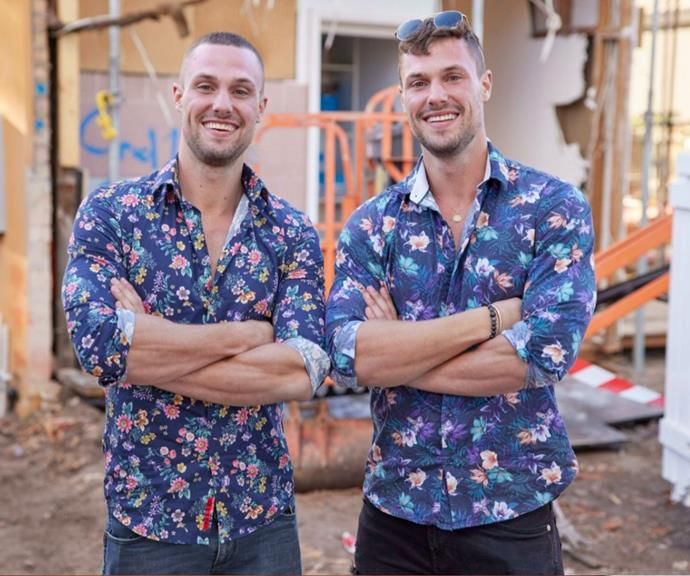 The twins are ready to surprise Australia with their renovation skills.