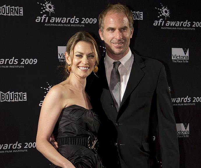 Kat met her husband David Whiteley while starring together in a stage production.
