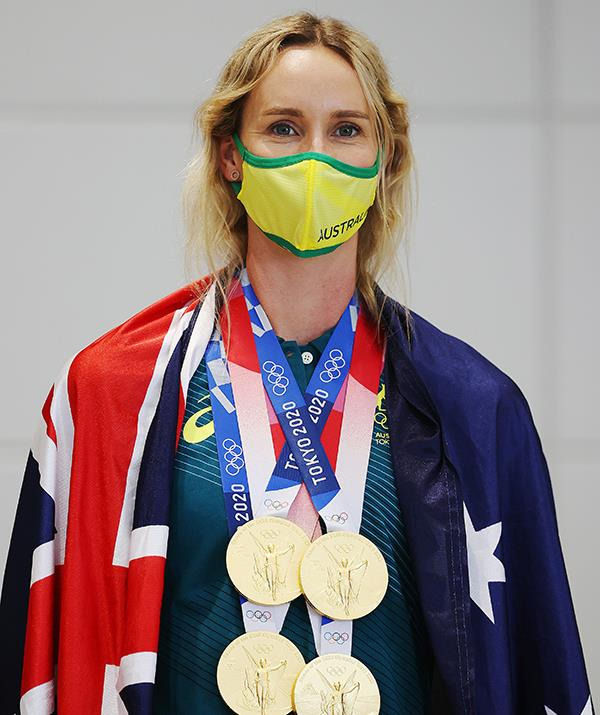 Emma received her Bachelor of Public Health and Health Promotion  the day after her final Olympic swim.
