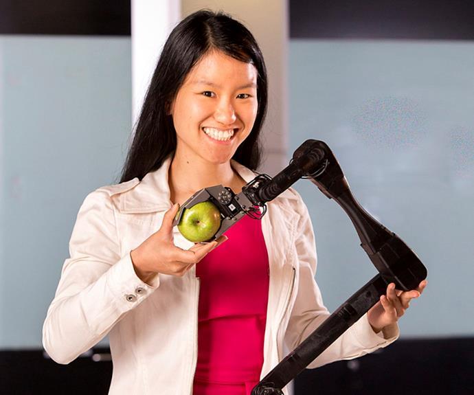 Tech entrepreneur Marita Cheng won in 2015.