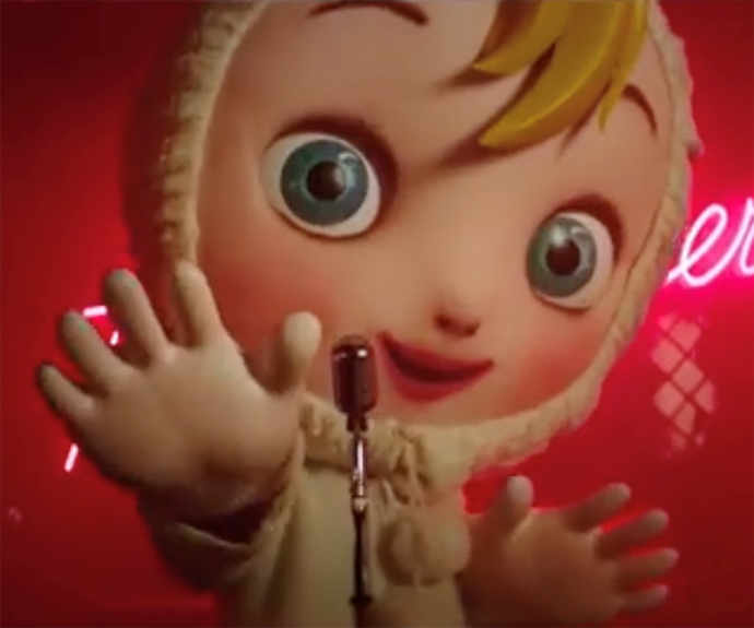 The new Baby character is a little unnerving.