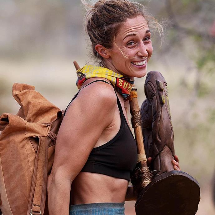 Hayley has been playing a clever social game on *Survivor*.