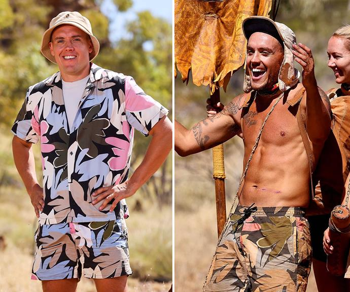 **Joey** <br> Joey shed some kilos before he was eliminated from the show and told *TV Week* that the rice and lentil diet all the castaways were on was brutal.