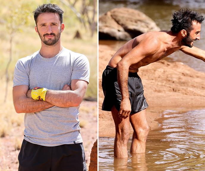 **Andrew** <br> Survival expert Andrew is looking seriously lean as the competition progresses, but he's still taking on some of the bigger guys in challengers.