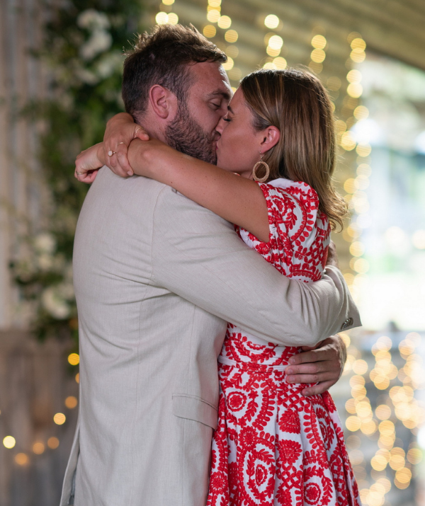 Andrew and Jess are still in love seven months on from the show.