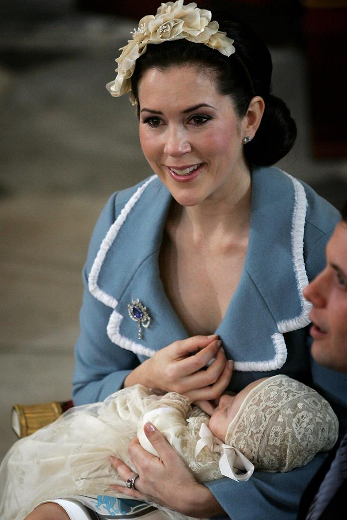 Prince Christian was christened on January 21, 2006 in a special royal ceremony.