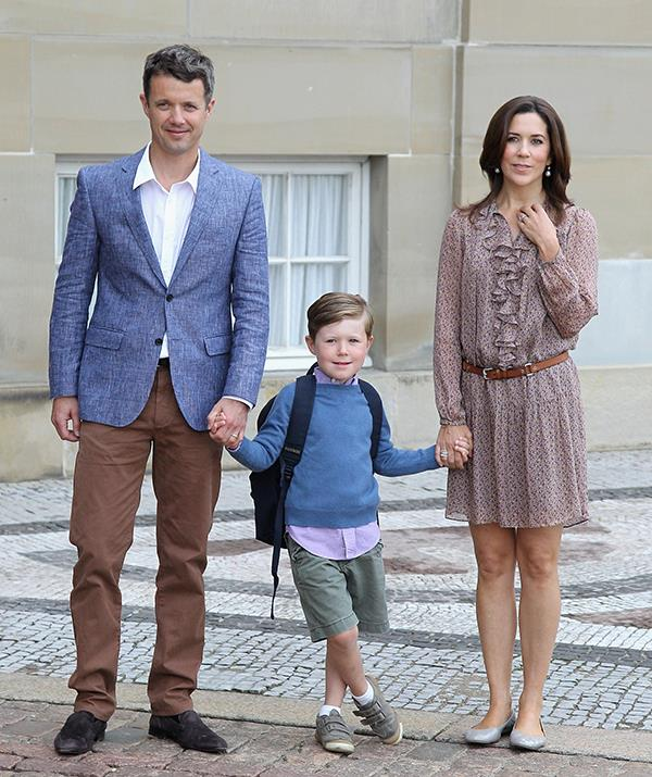 Mary and Frederik broke tradition by sending their eldest son to a public school.