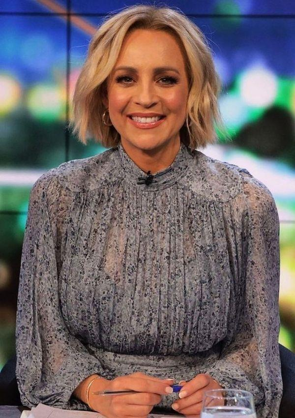 Carrie is a big lover of the Australian label Shona Joy, and we can see why! Their clothes are basically made for the TV presenter.