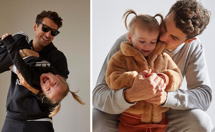 Make like Matty J and daughter Marlie-Mae this Father's Day and rock daddy-daughter matching outfits.