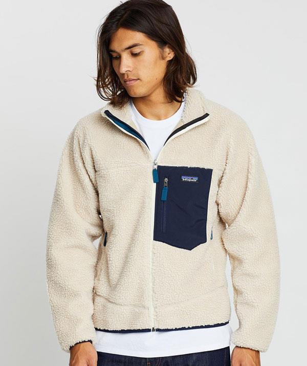 """**For the adventure-loving dad**: A fashion-forward windbreaker? Yes, it's possible! This fleecy number from Patagonia, which will keep dad warm *and* stylish all in one, is at the top of our wish list.  <br><br> *Patagonia Classic Retro-X Jacket, The Iconic, $279.95, [shop it here](https://go.skimresources.com?id=105419X1569321&xs=1&url=https%3A%2F%2Fwww.theiconic.com.au%2Fclassic-retro-x-jacket-1075667.html