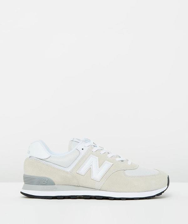 """**For the dad on the go:** The Jerry Seinfeld-inspired jeans and sneaker combo gets a chic makeover with these puppies.  <br><br> *New Balance Classics, 574 - Men's, The Iconic, $140, [shop it here](https://go.skimresources.com?id=105419X1569321&xs=1&url=https%3A%2F%2Fwww.theiconic.com.au%2F574-men-s-568853.html