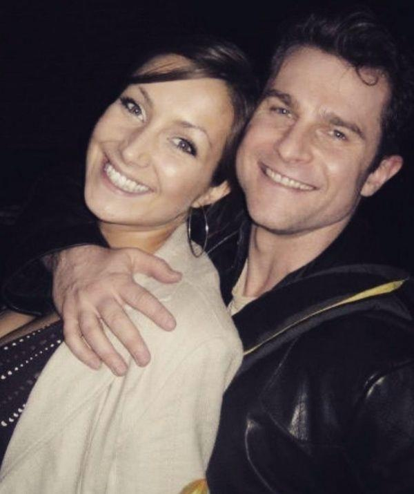 """David posted this sweet throwback picture for their anniversary.  <br><br> He captioned the shot, """"13 years ago. Still so in love. Still laughing. Still growing together."""""""