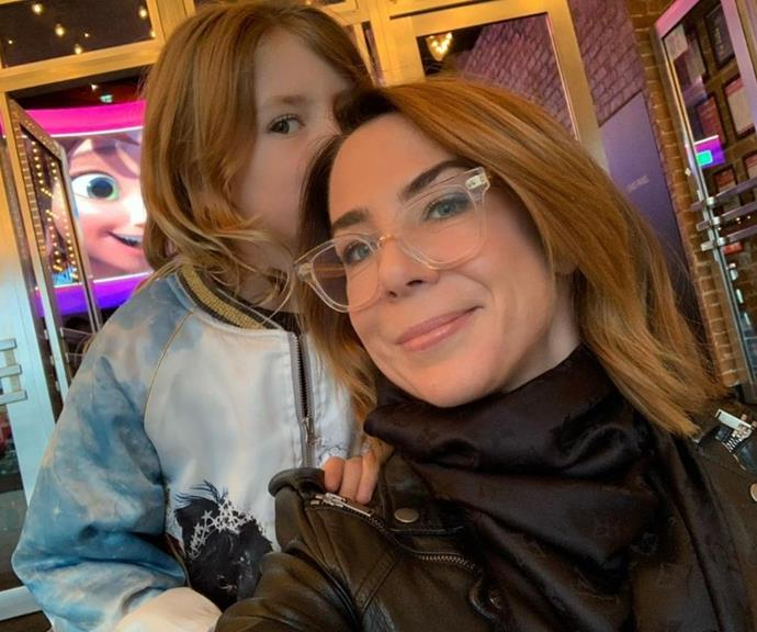 """Kate and Mae love to watch movies together, so they went on a trip to the cinema pre lockdown.  <br><br> """"Bubba and Mumma movie date 🍿🐴🎥 ❤️,"""" she captioned the post."""