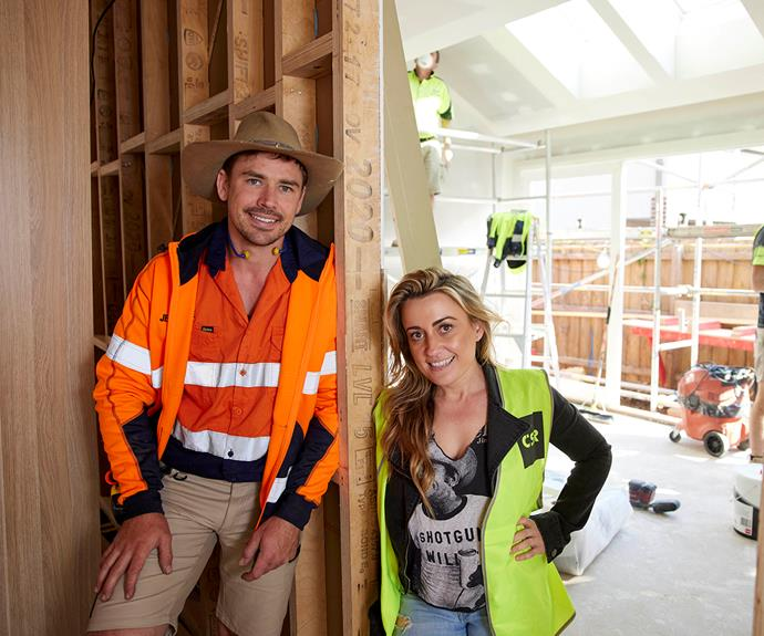 """""""All we are doing is creating our dream house, really,"""" says Kirsty."""