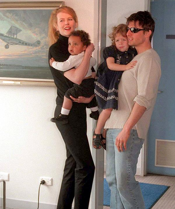 Both of the children have remained close with father Tom Cruise in the Church of Scientology.