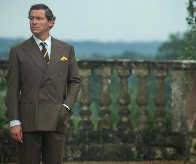 Dominic West is looking distinguished as Prince Charles.