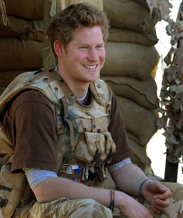 Prince Harry served two military tours of Afghanistan in 2007 and 2012.