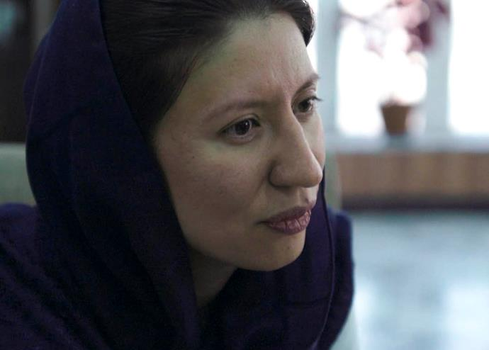 Shaharzad Akbar, chair of Afghanistan's Independent Human Rights Commission